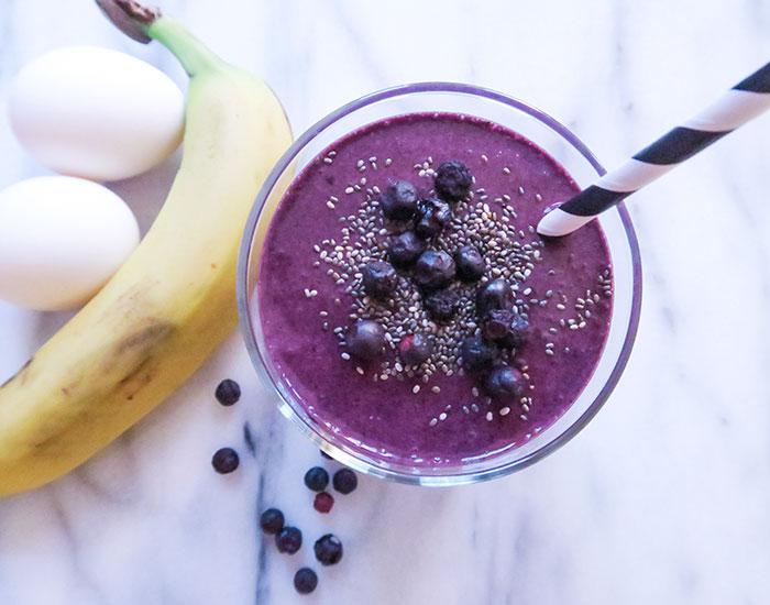 proteinpulver smoothie