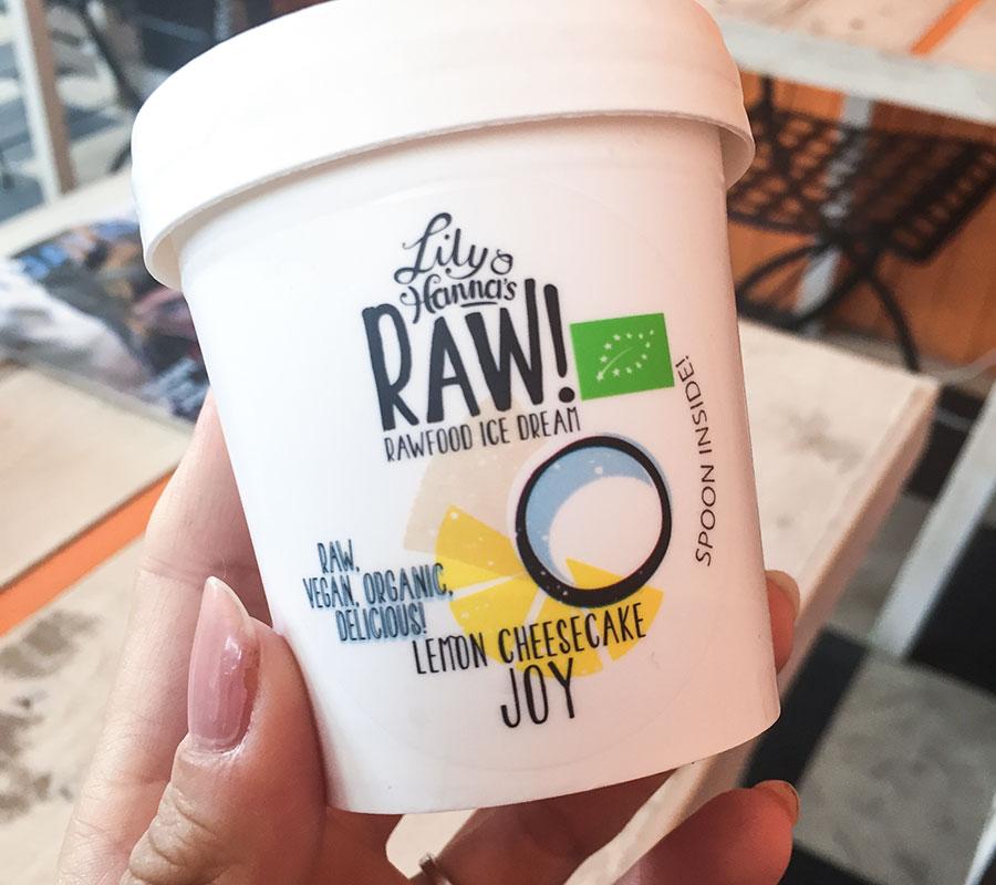 lily & hannas rawfood ice cream