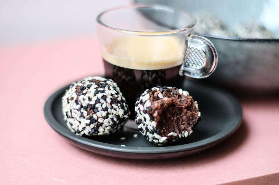 chokladbollar mörk choklad