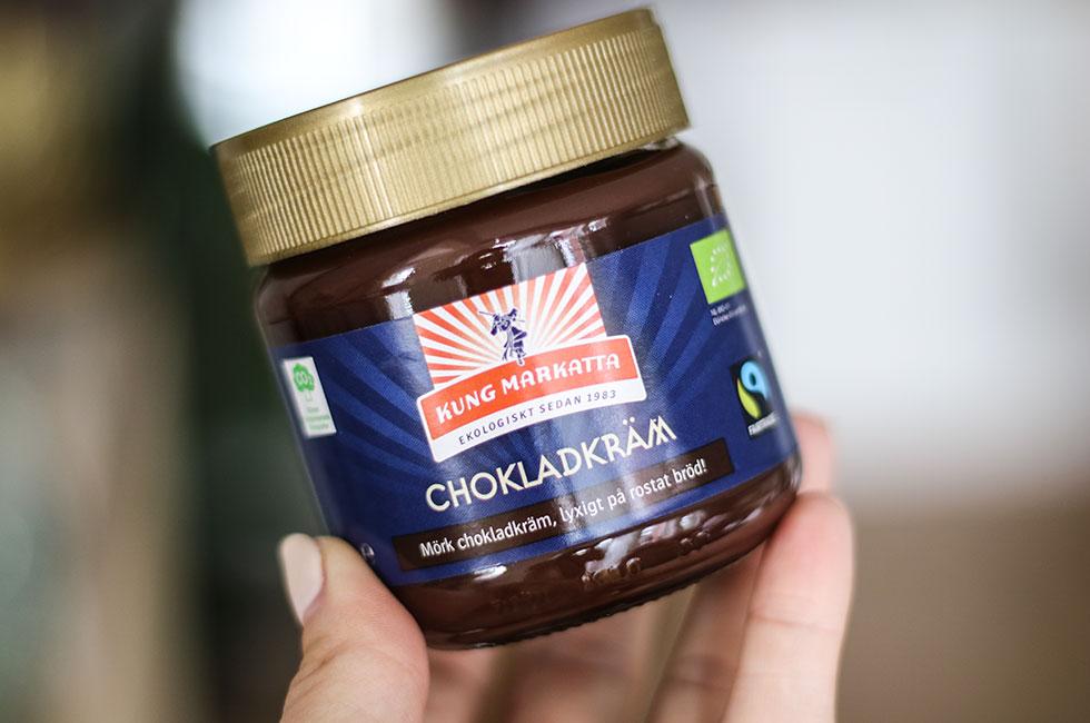 kung markatta chokladkräm